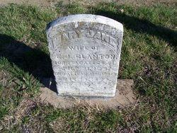 Mary Jane Mollie <i>Bockman</i> Blanton