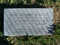 Margaret Ann <i>Bockman</i> Blanton