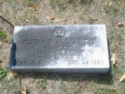 Joseph F. Alexander