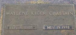 Margaret Maylene Maylene <i>Kiger</i> Chastain
