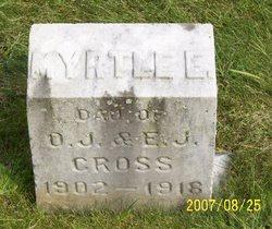 Myrtle E Cross