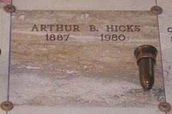 Arthur Barnum Hicks, Sr