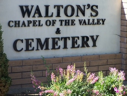Waltons Chapel of the Valley