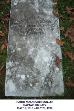 Harry Waln Stinky Harrison, Jr