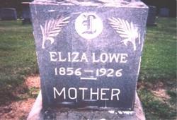 Eliza <i>James Lowe</i> Griffin