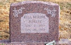 Ella Morine <i>Harmon</i> Bowles