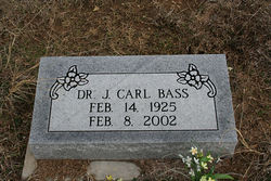 Dr J. Carl Bass