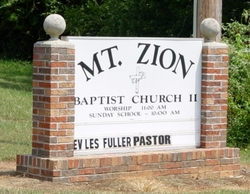 Mount Zion Baptist Church Cemetery #2