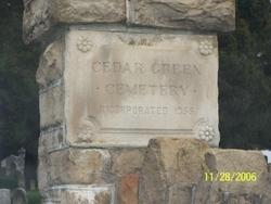 Cedar Green Cemetery