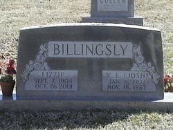 Elizabeth Emerine Lizzie <i>Wallace</i> Billingsly
