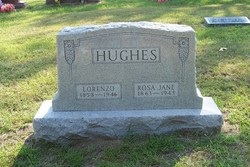Rosa Jane Rosie <i>Daniel</i> Hughes