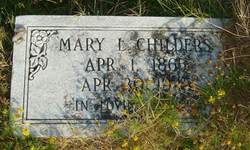 Mary L. <i>Sims</i> Childers