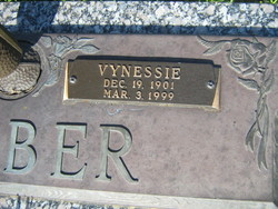 Vynessie <i>Pringle Johns</i> Barber