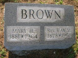 Rev Raymond M. Brown