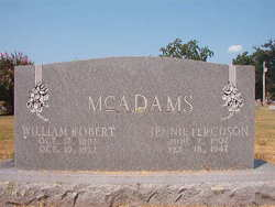 Jennie <i>Ferguson</i> McAdams