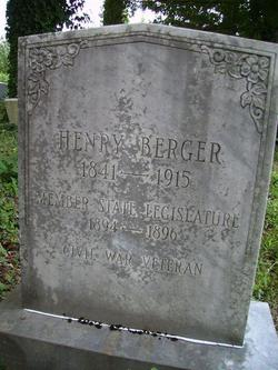Pvt Henry Clay Pomp Berger