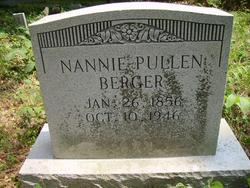 Nannie Bettie <i>Pullen</i> Berger