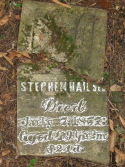 Stephen Hail, Sr