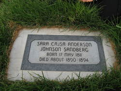 Sara Cajsa Anderson Johnson Sandberg