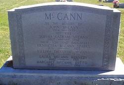 Margrette Ann <i>McCann</i> Ditto