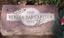 Bertha Fay Carlson
