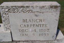 Blanche <i>Dallam</i> Carpenter