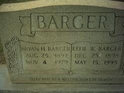 Effie W. Barger
