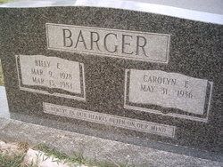 Billy E. Barger