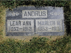 Leah Ann <i>Terry</i> Andrus