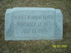 Bernice Ortelle <i>McMillan</i> Beaver