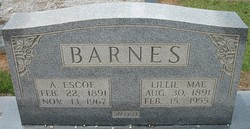 A Escoe Barnes