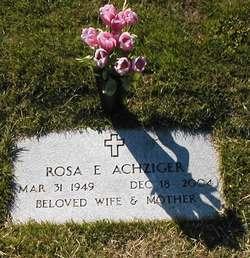 Rosa E <i>De La Cerda</i> Achziger
