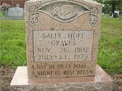 Sally <i>Huff</i> Graves