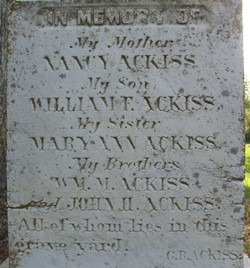 William M. Ackiss