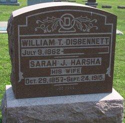Sarah J. <i>Harsha</i> Disbennett