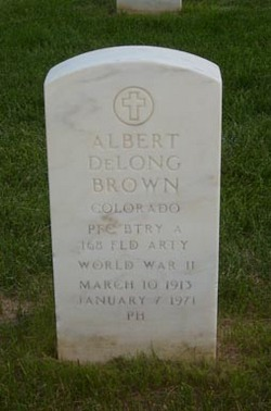 Albert DeLong Brown