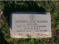 Artemus Ray Maness