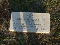 Pvt Edwin Miller Garrett