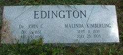 Malinda <i>Kimberling</i> Edington