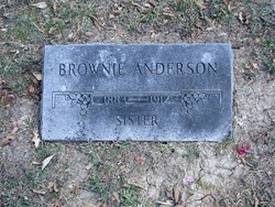 Mary Brownie <i>Brotherson</i> Anderson