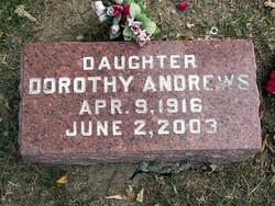 Dorothy <i>Orr</i> Andrews