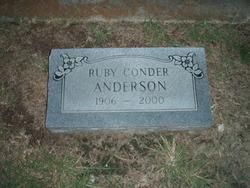 Ruby <i>Conder</i> Anderson