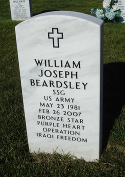 Sgt William Joseph BJ Beardsley
