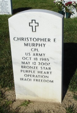 Corp Christopher Edward Murphy