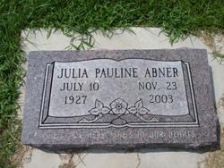Julia Pauline Abner