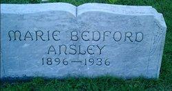 Marie <i>Bedford</i> Ansley