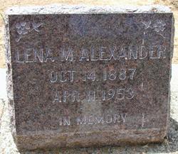 Lena M. <i>Segale</i> Alexander