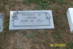 Frances Jo Adams