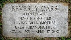 Beverly <i>Daynes</i> Garr