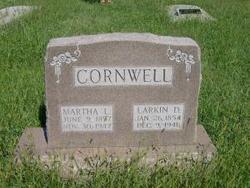 Martha E. Mattie <i>Schooler</i> Cornwell